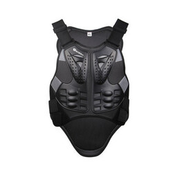 Black Armor Riding Gears Motorcycle Protective Body Vest Sport