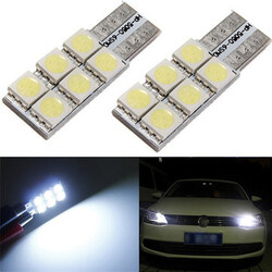 SMD Interior Wedge Light Bulb LED 5050 3W T10 W5W 501