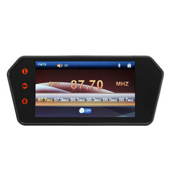 Bluetooth Monitor MP5 HD Touch Screen Reversing Camera Car Rear View Parking 7 Inch LCD