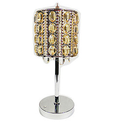 Warm White Cool White 1 Pcs Touch Switch Crystal Dimmable Table Lamps