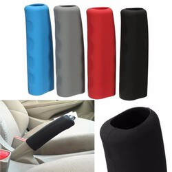 Handbrake Anti Slip Car Interior Brake Silicone Handle Lever