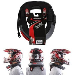 Long-Distance Protector Brace Protective Racing Helmet Collar Neck Safety Guard