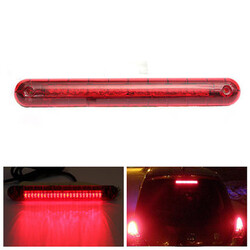 3RD 12V SUV High Mount Third Brake Tail Light Lamp Auto Universal Car Red LED