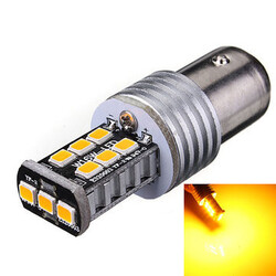 Light Yellow LED 15W Turn Signal BAY15D 1157 Stop Tail