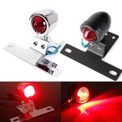 Lamp For Harley Rear Motorcycle Bullet Brake Tail Stop Light