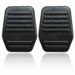Pedal MK7 Rubber Cover pads Ford Transit MK6 A pair of Black